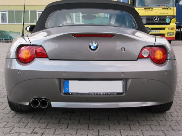 Eisenmann Endschalldämpfer BMW E85 Z4 E86 2,2i 2,5i 3,0i - Aerodynamic-Heckschürze